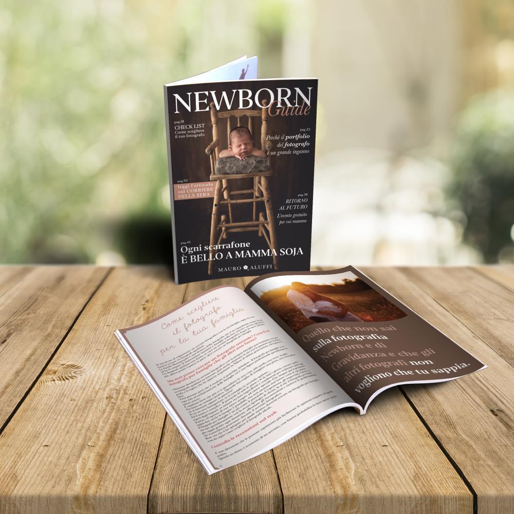 magazine newborn photography